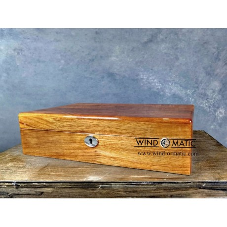 12 Solid Wood Watch Box