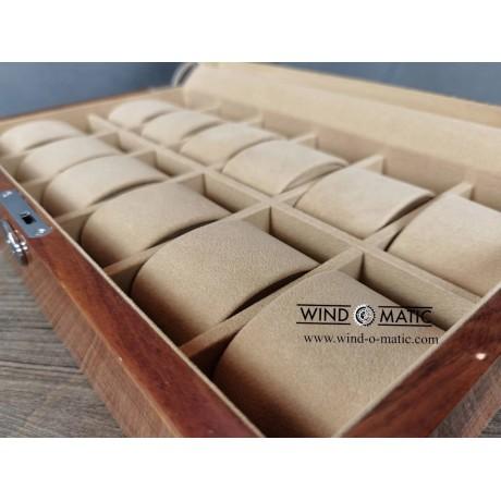 12 Solid Wood Watch Box (Window)