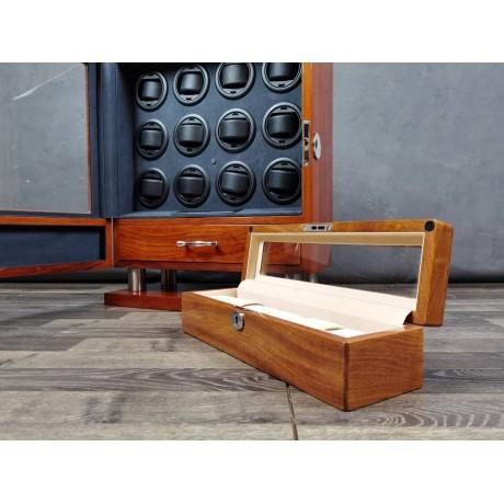 6 Solid Wood Watch Box