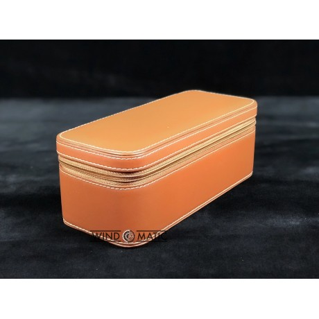 Top Grain Leather Watch Case for 2
